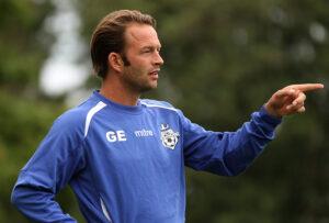 AssistenttrÊner Brian Gellert (FC Helsing¯r).