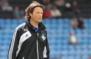 AssistenttrÊner Christian L¯nstrup (FC Helsing¯r).